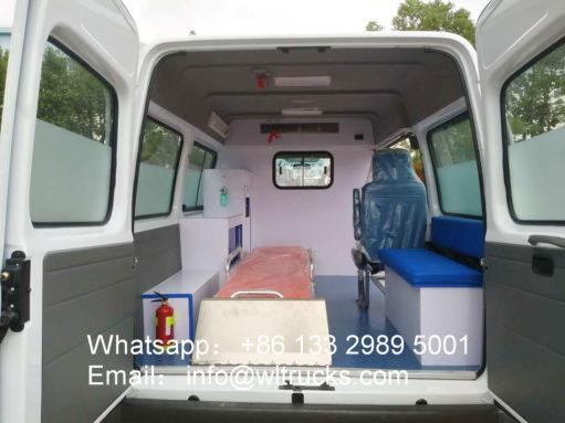 JMC Ambulance vehicle