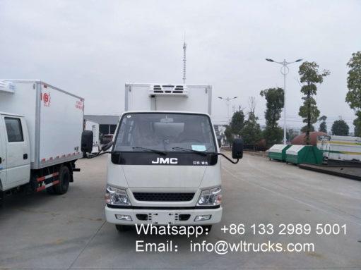 JMC Double Row 3 ton food fridge trucks