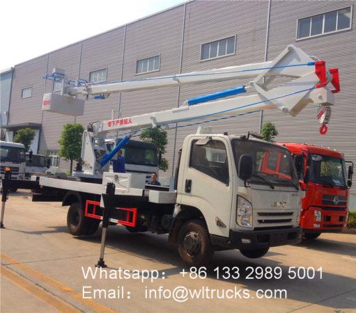 JMC aerial platform truck