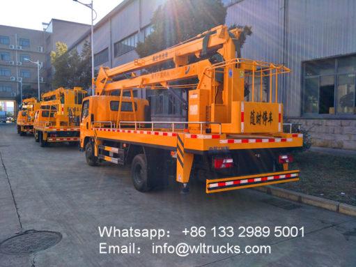 JMC aerial working platform truck
