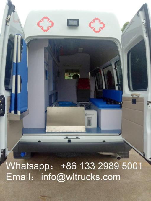 JMC ambulance car