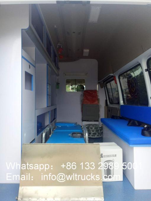 JMC intensive care ambulance car