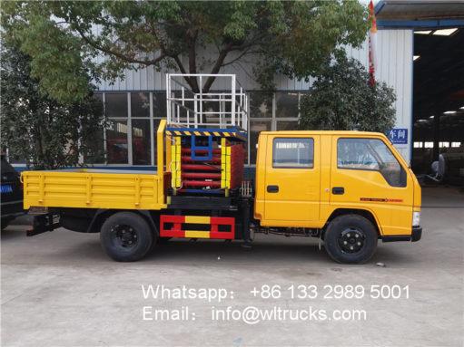 JMC truck mounted aerial work platform