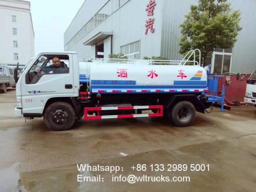 JMC water spray truck