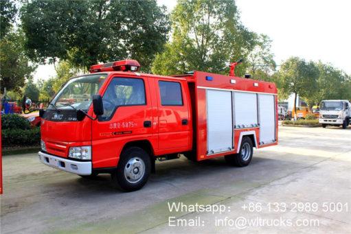 JMC water tank fire truck