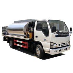 Japan ISUZU 6000L asphalt spray truck