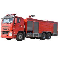 Japanese 6x4 ISUZU VC61 12ton foam fire truck