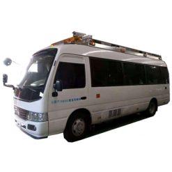 Japanese Toyota mobile medical ambulance bus