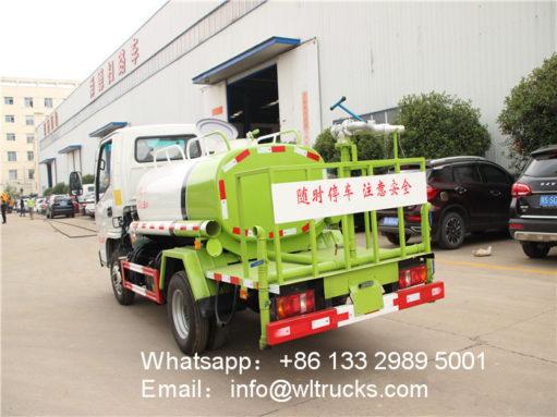 KAMA 3 ton water bowser truck