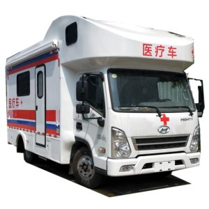Korea Hyundai Medical vehicle and Hospital emergency ambulance