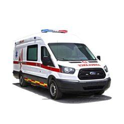 Long wheelbase IVECO ambulance car