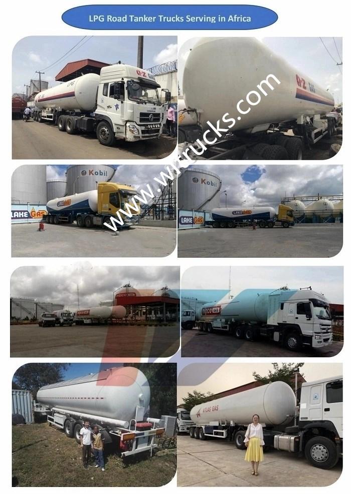 Lpg tanker trailers Different designs