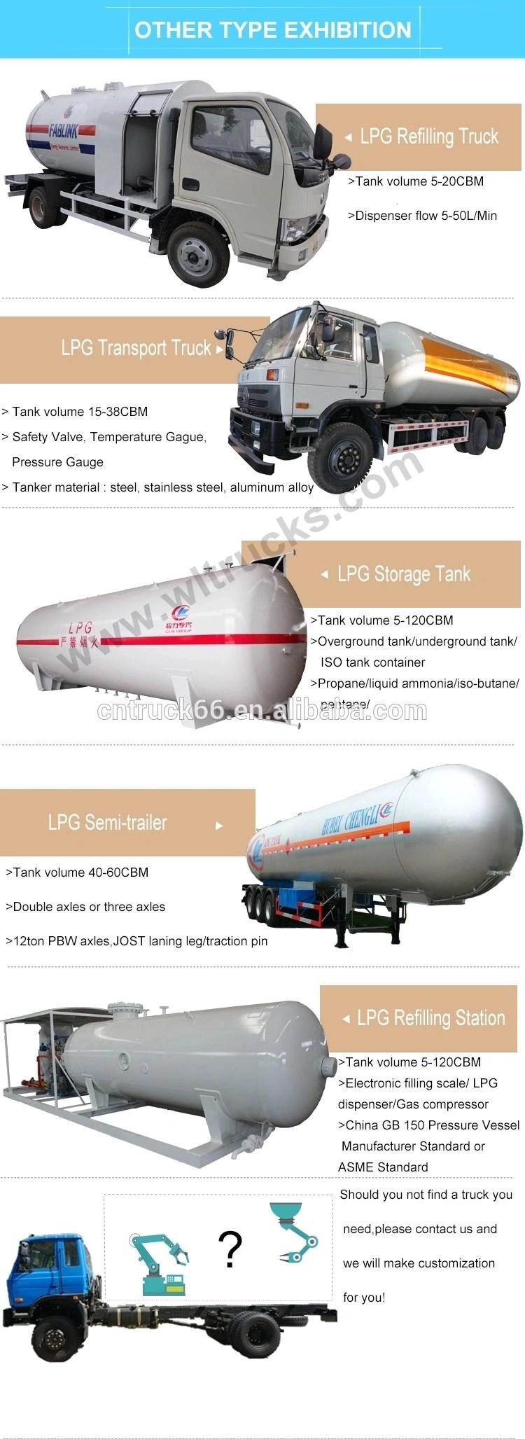 Lpg truck type exhibition