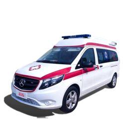 Mercedes Benz ICU Ambulance Airport Hospital