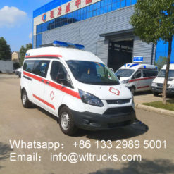 Ford V362 Long Axis Middle Roof ICU Emergency Rescue Vehicle