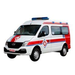 SAIC MAXUS V80 long axis Monitor Ward-Type Ambulance cart