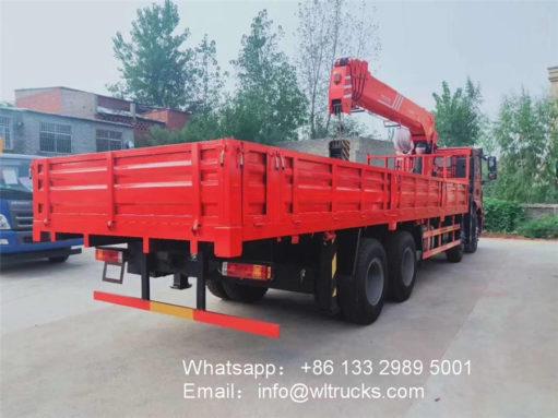 Shacman 14ton 16ton crane truck