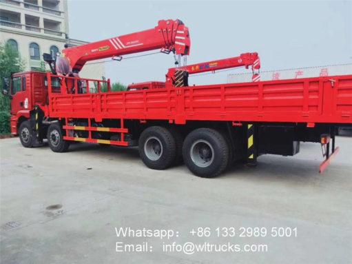 Shacman 16ton crane truck