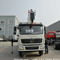 Shacman 20m to 22m aerial truck