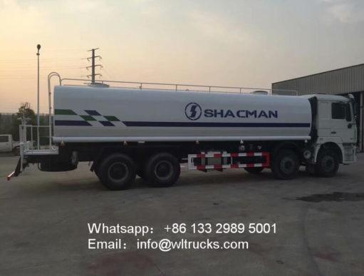 Shacman 30000liters water truck
