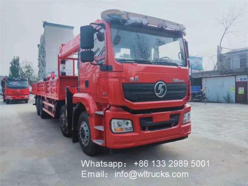 Shacman crane lift truck