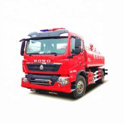 Sinotruk Howo 12000 liter airport fire water truck
