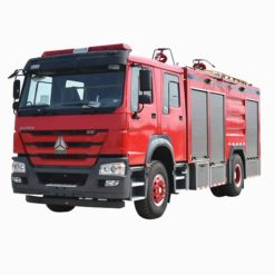 Sinotruk Howo 8 ton 10 ton water tank fire truck
