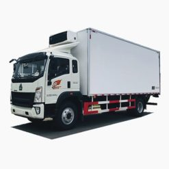 Sinotruk howo 10 ton to 12ton refrigerator trucks