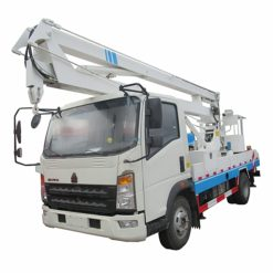 Sinotruk howo 16m to 18m aerial working platform truck