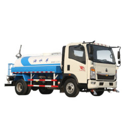 Sinotruk howo 8m3 water cannon vehicle