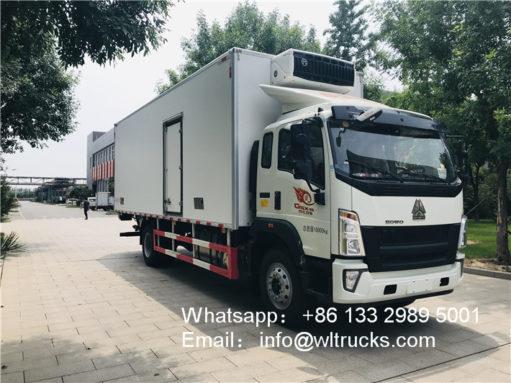 Sinotruk refrigerator trucks
