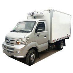 Sinotruk wangpai Oil and gas engine 2 ton freezer refrigerated truck