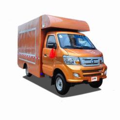 Sinotruk wangpai caravan food delivery trucks