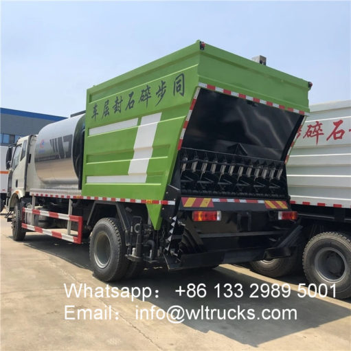 Synchronous Chip Sealer asphalt trucks