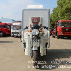 Three wheeler electric refrigerated trucks