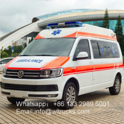 4WD German Volkswagen Ambulance