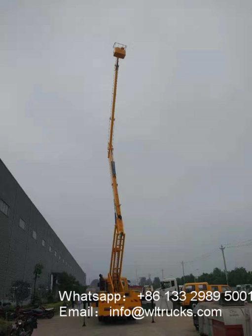 aerial platform rescue truck