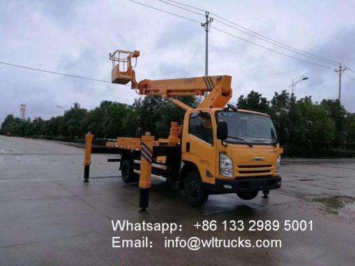 aerial working truck