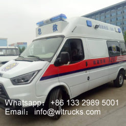 JMC long-axis intensive care ambulance car