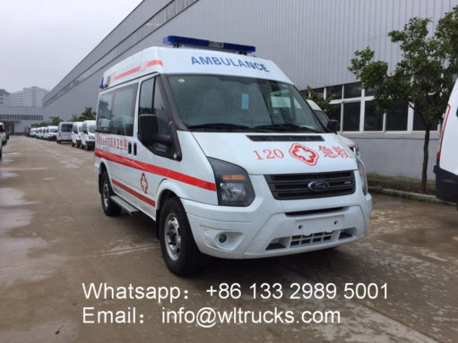 Ford V348 ICU intensive care ambulance vehicle