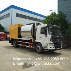 Shacman 15000liters asphalt synchronous chip sealer truck