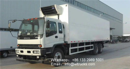 ISUZU FVZ 18ton to 20ton food refrigerated truck
