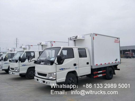 JMC Double Row 3 ton food fridge truck