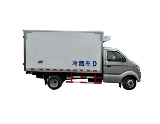 gasoline refrigerator truck