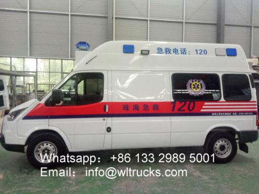 intensive care ambulance car