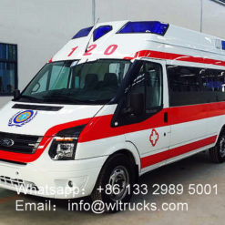 intensive care ambulance vehicle