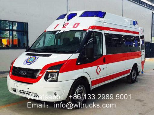 intensive care ambulance vehicle