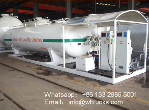 25000 liter 10 ton lpg gas container station