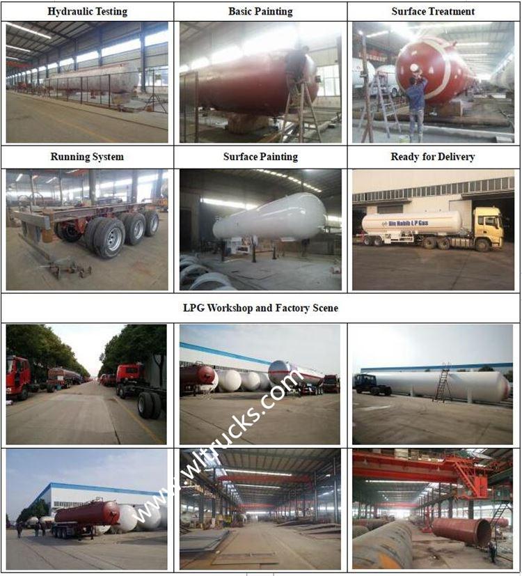lpg trailer Production Process