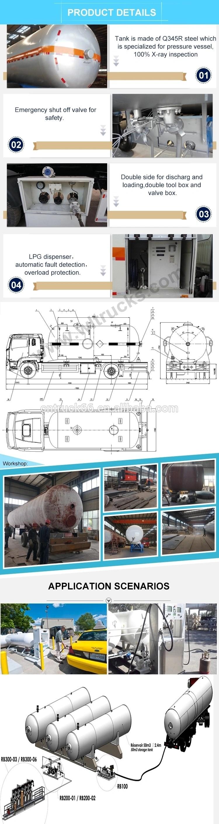 lpg truck details